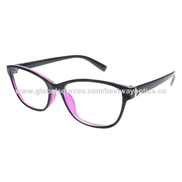 Optical Frame, Made of Polycarbonate, Free Personalize Logo, Suitable for Women