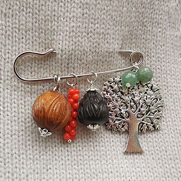 Lovely Brooch, 6.2cm, OEM are accepted