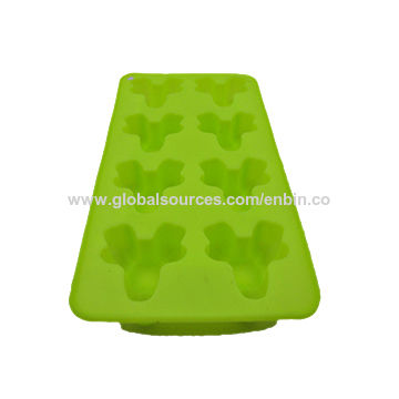 Silicone chocolate baking mold with funny shape