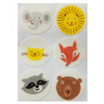 Smiley Face Mosquito Repellent with Non-woven Material Housing, 6 Pieces per Pack