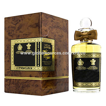 Hot sale for man's perfume with glass bottle