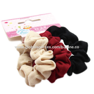 Different colors scrunchies, customized colors accepted
