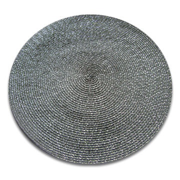 Placemat, made of PP, with 15-inch diameter