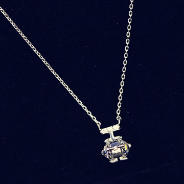 Creative exquisite small perfume bottle pendant necklace, small order acceptable