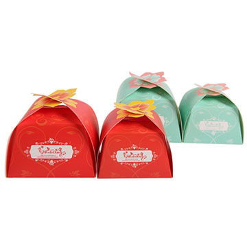 Unique design high quality wedding sweet boxes, small