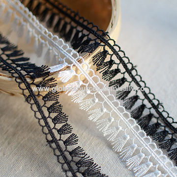 New small embroidered tassel lace, small orders are welcome