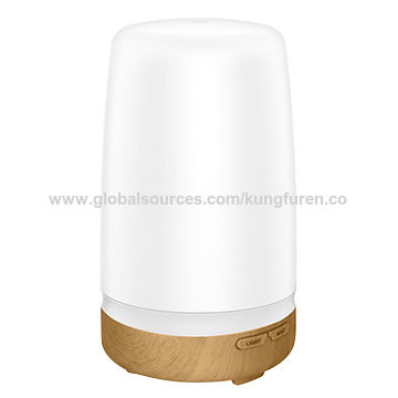 600mL Wood Aromatherapy Essential Oil Diffuser, Wood Grain Diffusers
