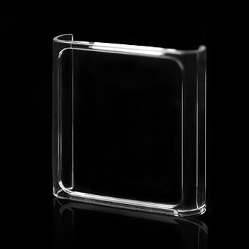 Crystal Case for iPod Nano, Made of PC Material