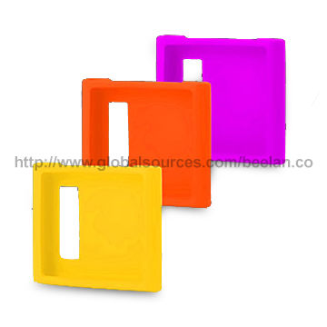Silicone Case for iPod Nano, Various Colors are Available