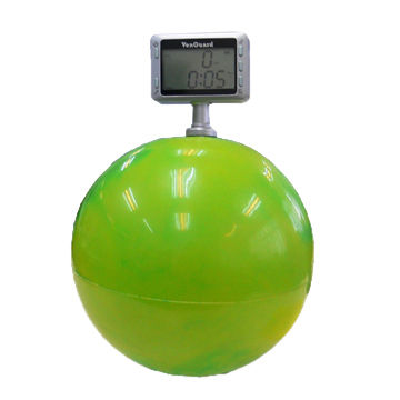 Pressure-Cise is an Exercise Ball, with Measuring Counter, as Rehabilitation Aids to Stroke Patient