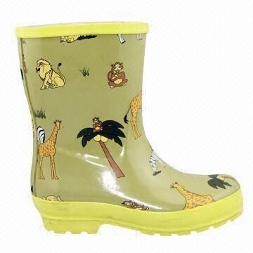 Children's Rain Boots, Available in Various Styles and Colors, High Quality, Fine Workmanship
