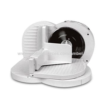 Meat Slicer with Three Speed Controls and 170mm Stainless Steel Blade