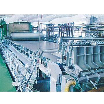 Cultural/Package and Tissue Paper Making Machine for Raw Material Waster Paper or Wood Pulp