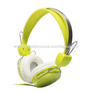 MP3 headphone, good looking, 1.2m cord, 3.5mm connector