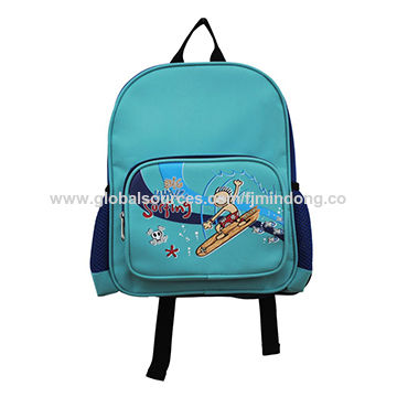 Cute and lovely design boy's backpack, durable to use and easy to clean, various in color and