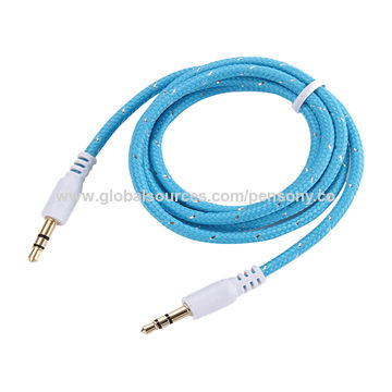 Top Sales AUX Cable, 3.5mm Stereo Male to Male