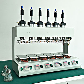 Phone glass panel and LCD clamping machine, can be adhesives 72 pieces at the same time