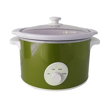5L oval slow cooker
