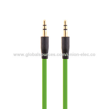 Flat TPE 3.5mm Auxiliary Cable