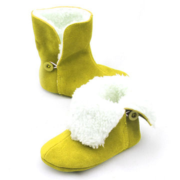 Winter boy's boots in genuine leather with multi colors optional