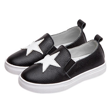 New autumn popular classic boys child PU cemented low cut shoes for kids