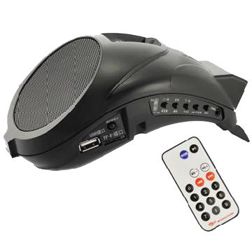 Multiple Function Voice Amplifier with USB Port and TF Card Adapter