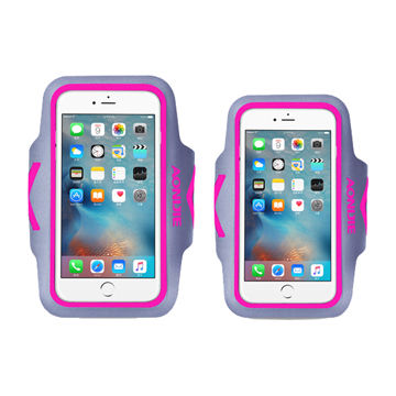 Sports armband case for mobile with screen window