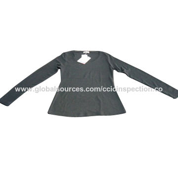 Inspection service for clothing