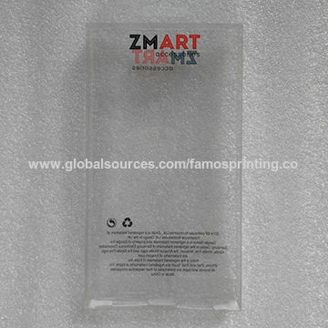 Plastic pet PVC packing with nice design