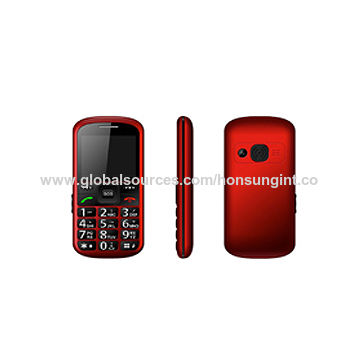 """Senior Feature Phone for Elder's with Big Letters 2.2"""" TFT,128*160 GSM:850/900/1800/1900 MTK 6261"""