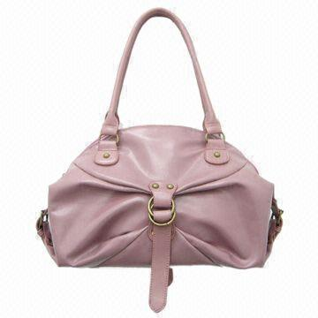 Synthetic Leather Handbag, Various Designs and Colors are Available