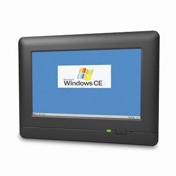 Industrial Panel with Microsoft's Windows CE Operating System, Customized Hardware/Software Accepted