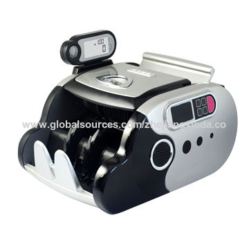 Fake Money Detector with Quick Counting UV/MG/IR Detection Machine