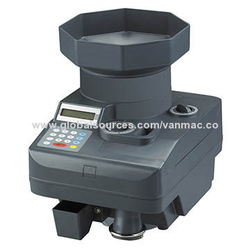 Heavy-duty Coin Counter with Built-in Extended Hopper