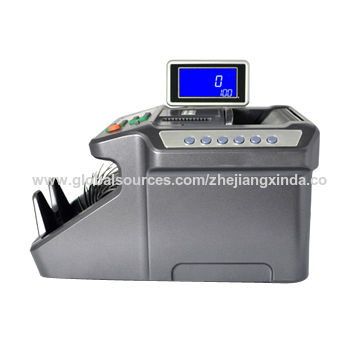 Money Detector with Double Displays, Automatic, UV MG IR Detection