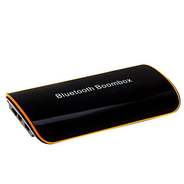 Portable HiFi Bluetooth Music Receiver Mini Boombox for Speaker Equipment Mounted with Audio Input