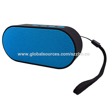Rechargeable Mini Bluetooth Speaker for Smartphone,Outdoor Portable Pocket Design,Built-in Mic,400mA